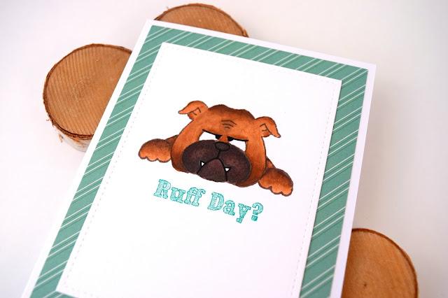 Encouragement Card featuring Dog by Jess Gerstner for Gerda Steiner Designs