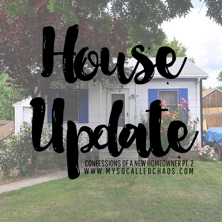 Confessions of a New Homeowner Part 2: Updates on The New House