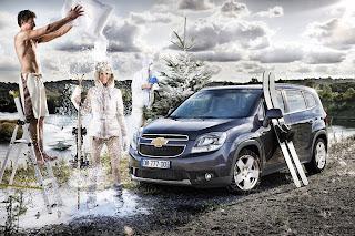 Chevrolet Orlando foto de reclama