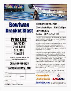 Bowlway Bracket Blast 2014
