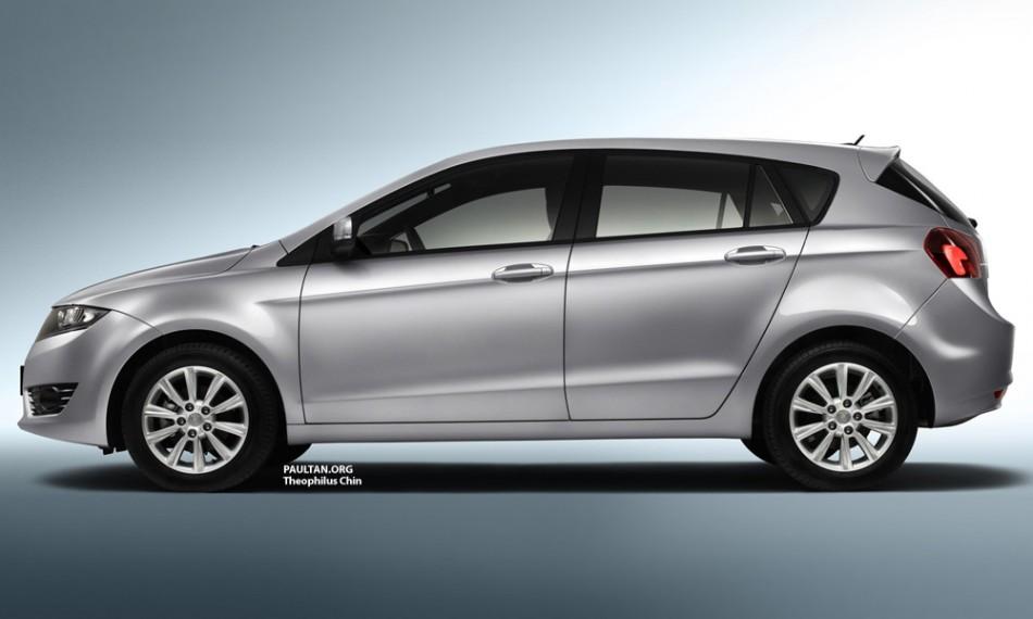 Proton Preve Hatchback @ Proton Suprima S