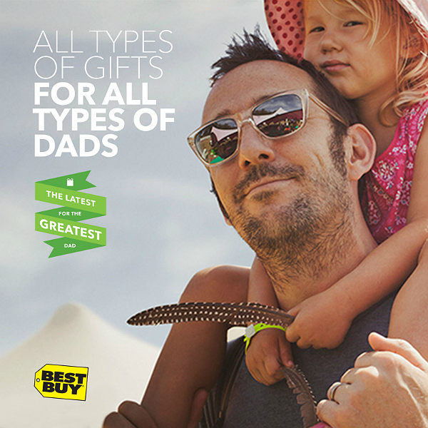 Find the perfect Father's Day gift for every dad at Best Buy with gifts under $100.