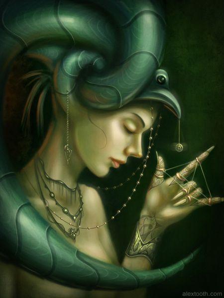 Alex Tooth ilustrações digitais artes conceituais fantasia ficção