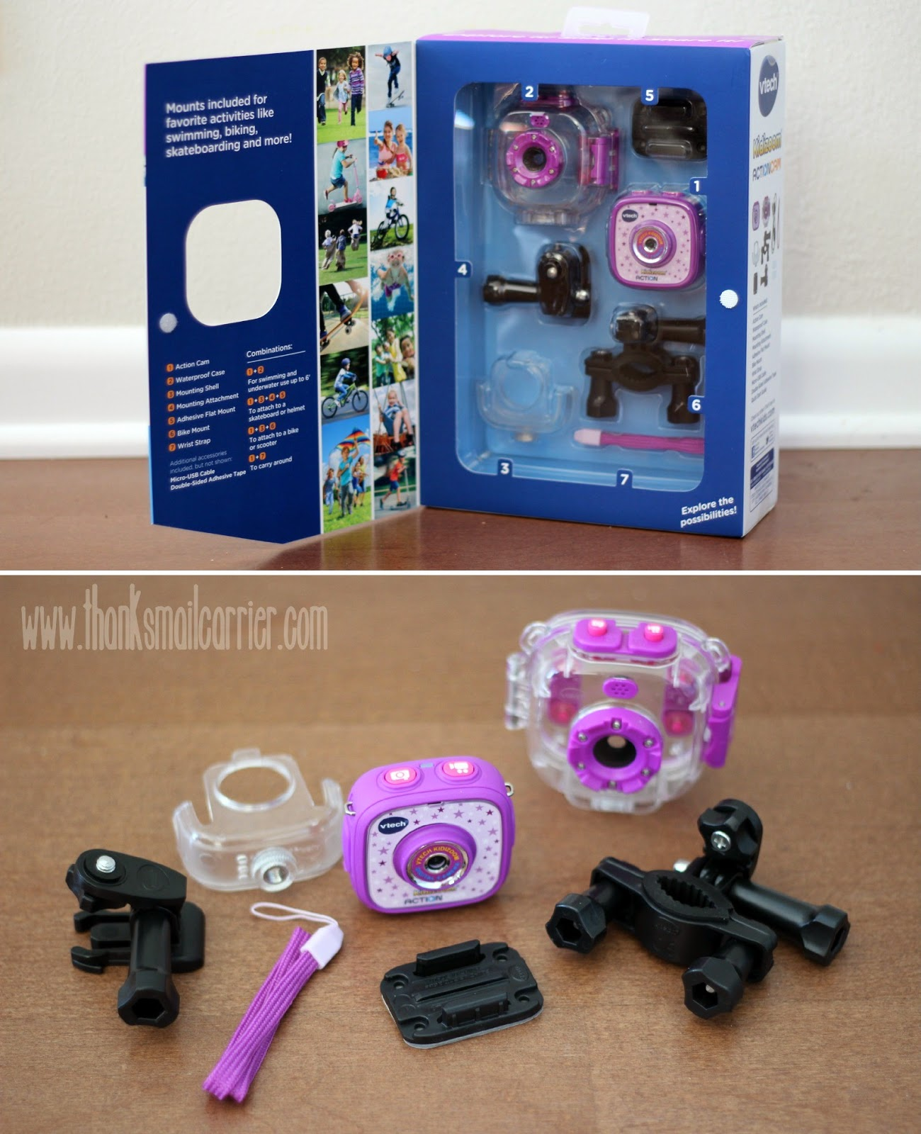 VTech Kidizoom Action Cam pieces