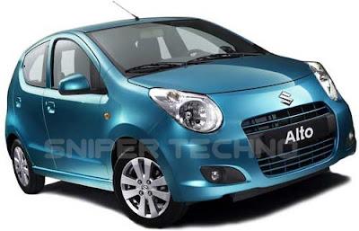 Harga dan Spesifikasi Mobil Murah New Suzuki Alto
