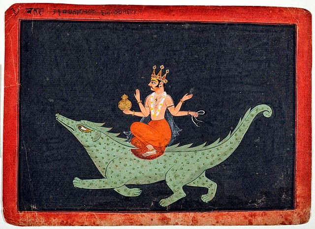 Makara as vehicle of Varuna