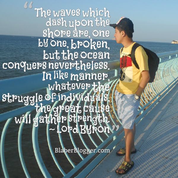 Lord Byron quotes on the beach and ocean