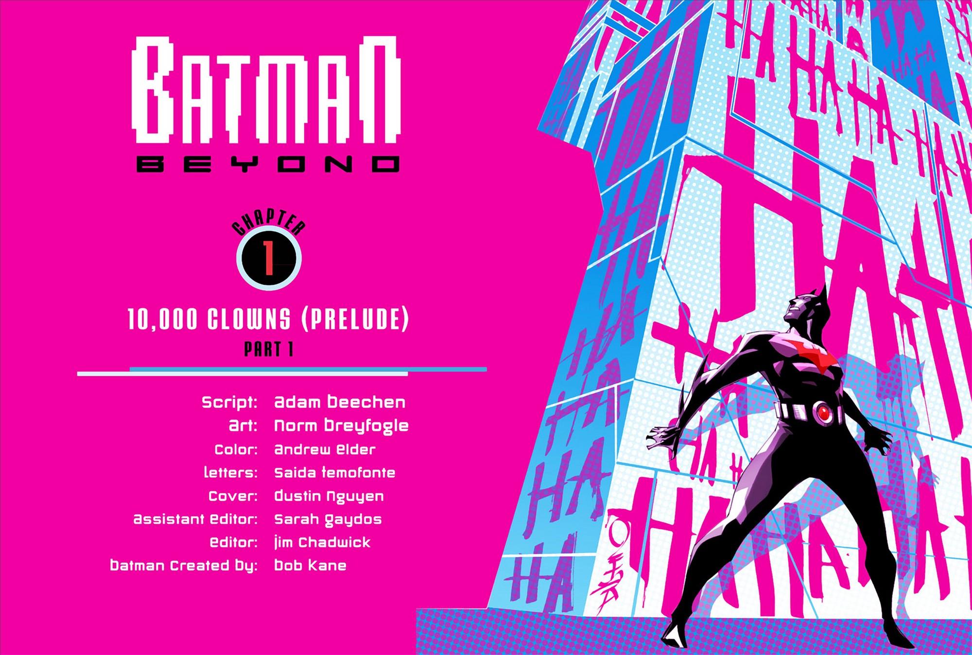 Batman Beyond (2012) Issue #1 #1 - English 2