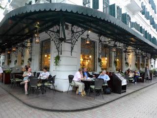 La Terrasse du Metropole restaurant in Hanoi