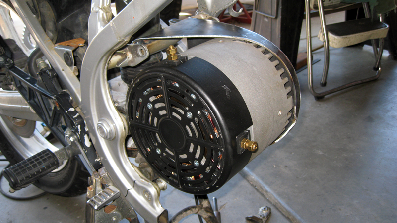 More Miscellaneous Motor Mounting Electric Motorcycle