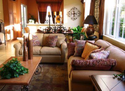 Creative design ideas for decorating a living room for Ideas decorativas home