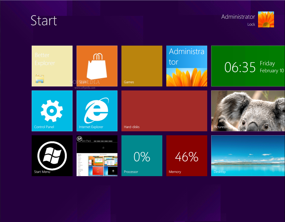 Download Skin Pack Windows 8 Untuk Windows 7 & win xp