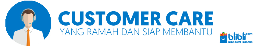 Customer care yang ramah di blibli.com