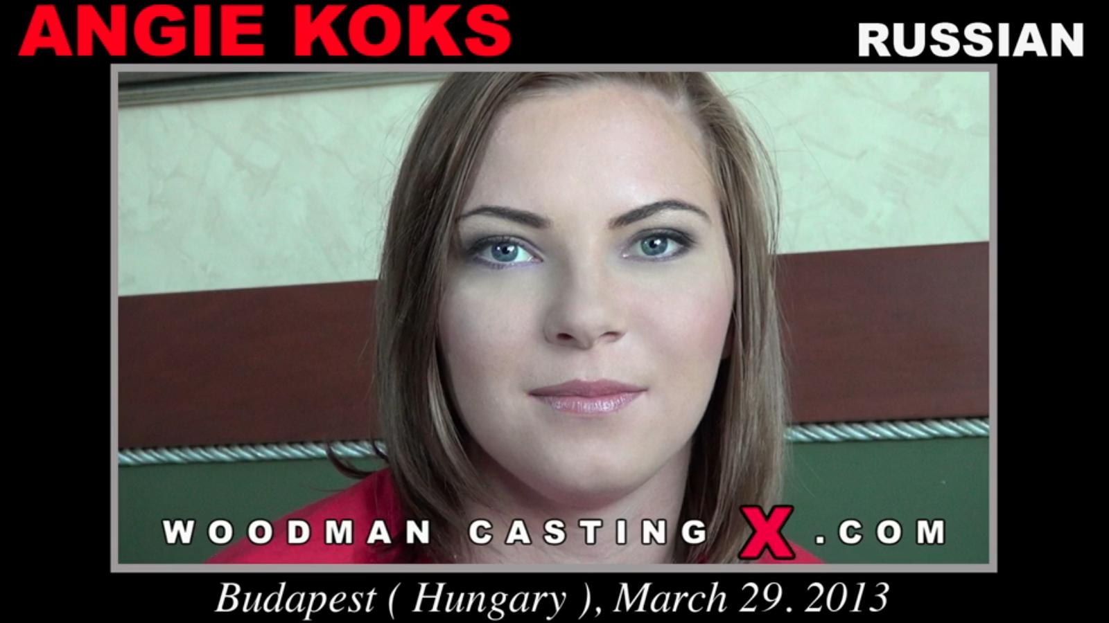 Angie Koks Woodman Casting X