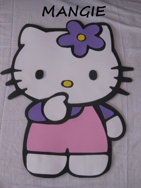 Hello Kitty aplique decorativo