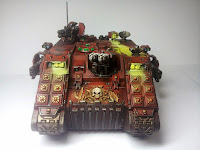 LAND RAIDER BLOOD ANGELS - WARHAMMER 40000 3