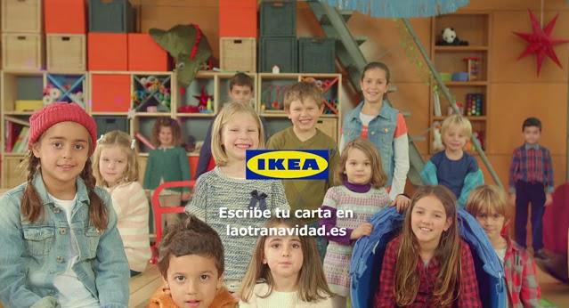 Campaña publicidad Navidad IKEA La otra carta youtube
