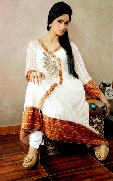Pakistani Designer Suits - Huma Nassr