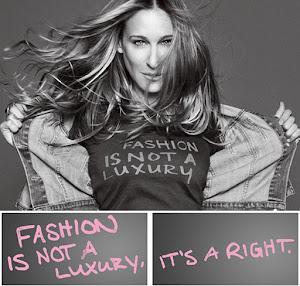 La moda no es un lujo...es un derecho!