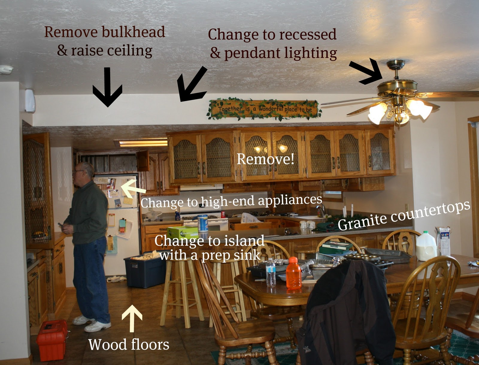 Marvelous photograph of How To Update Outdated Oak Kitchen Cabinets Good Questions 2015 Home  with #674120 color and 1600x1219 pixels