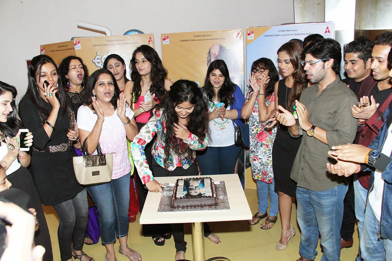 Avika gor celebrated her birthday