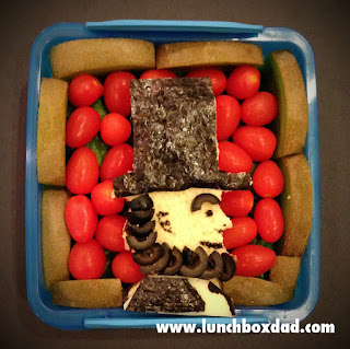 Abraham Lincoln bento lunch