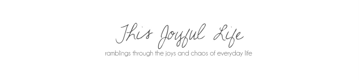 this JOYFUL life