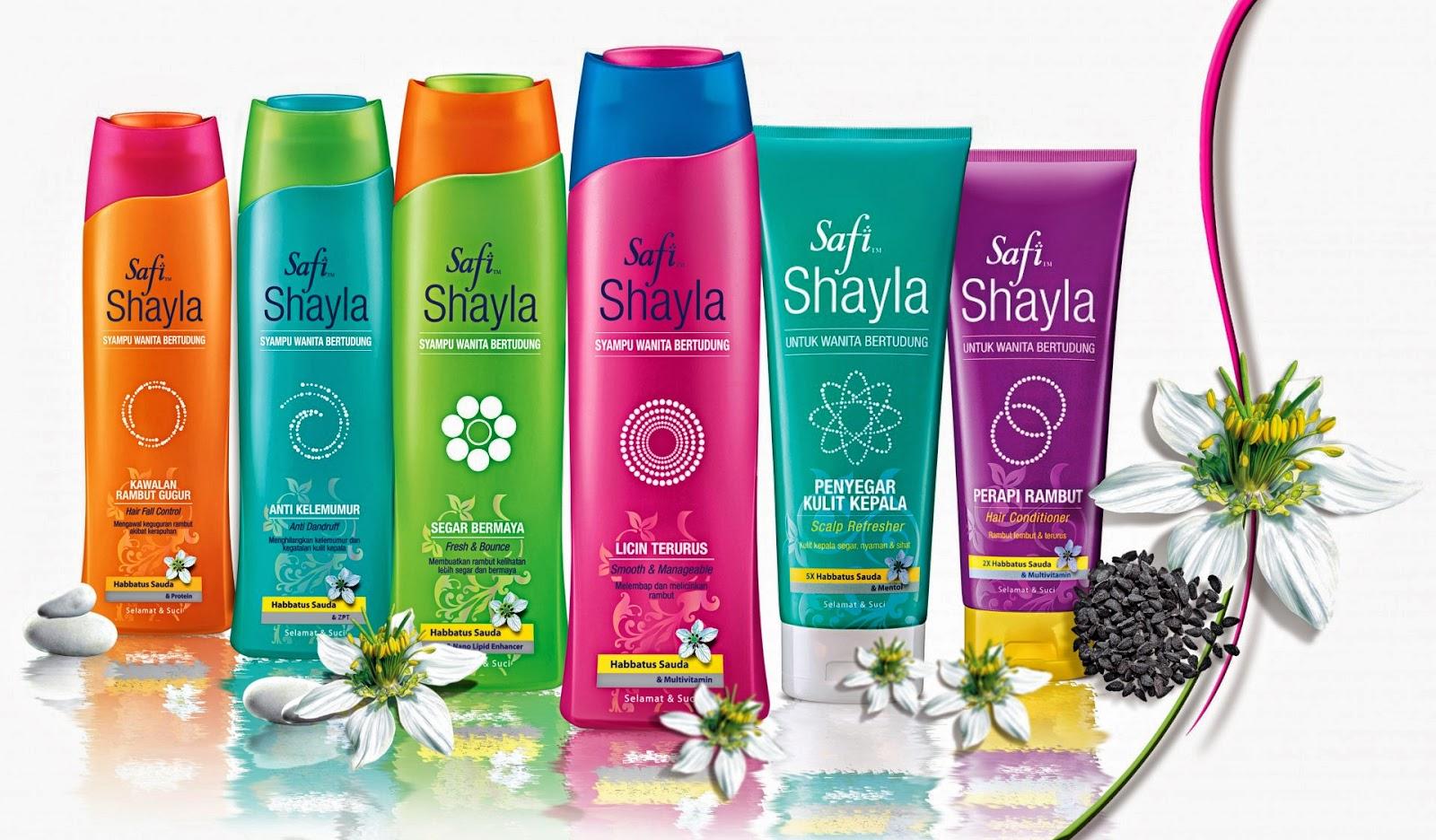 Safi Shayla Terbaik Syampoo untuk wanita bertudung