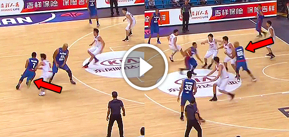 Jayson Castro & Asi Taulava's AMAZING Play (VIDEO) Fiba Asia 2015