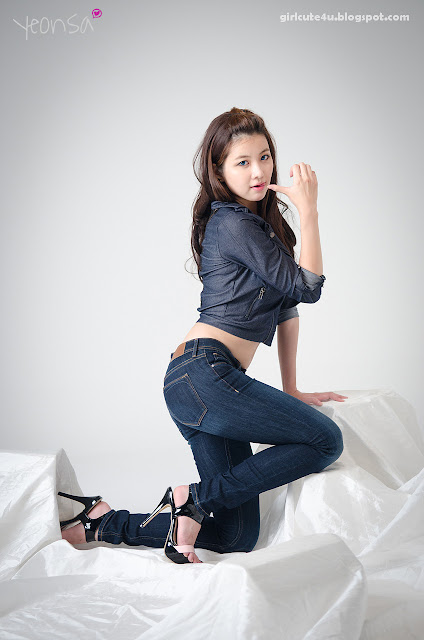 2 Jung Se On-Denim Girl-very cute asian girl-girlcute4u.blogspot.com
