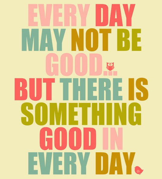 Daily good day quotes english