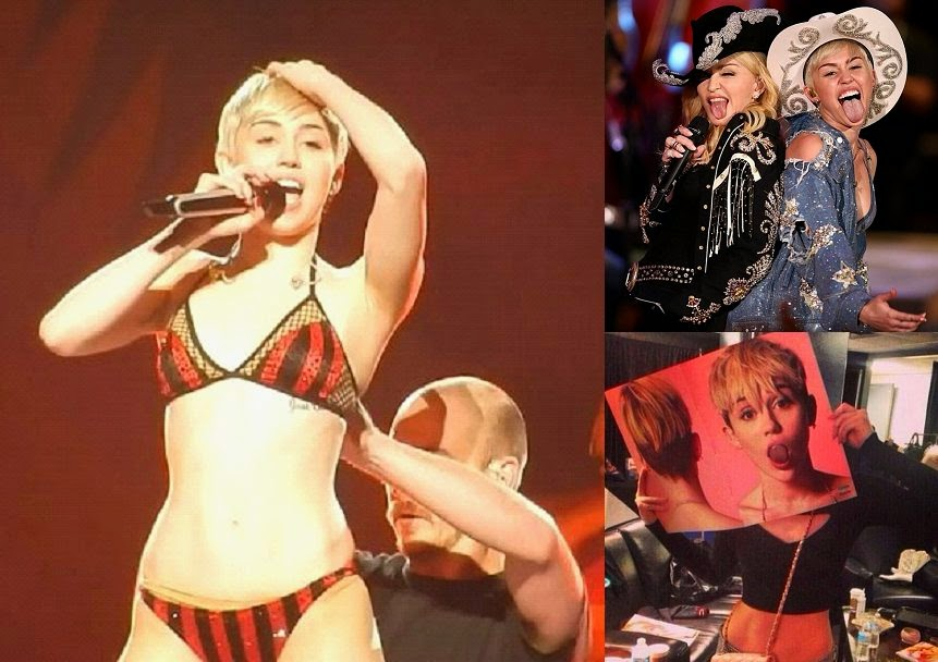 Miley Cyrus -- So You Think You Can Lap Dance