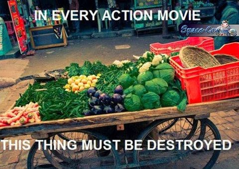 funny things action movie