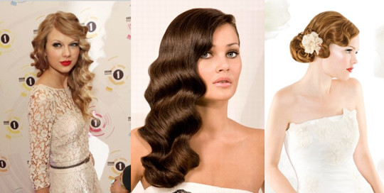 Finger Wave Hair Styles: It's Good To Be Queen: Impressive Bridal Hairstyles From