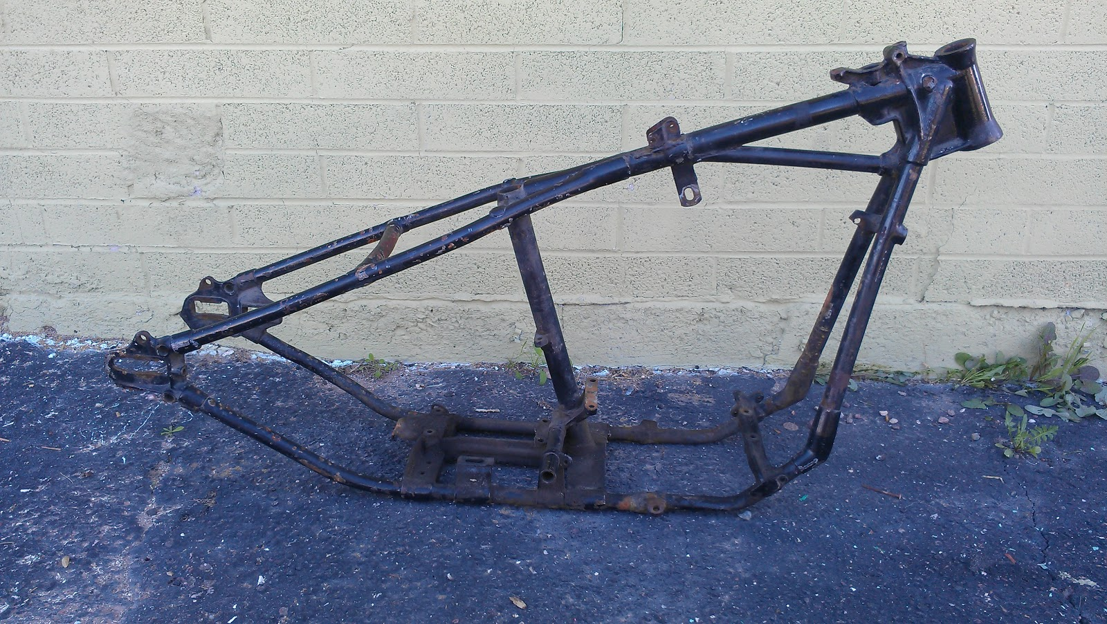 love cycles 1947 knucklehead frame for sale sold