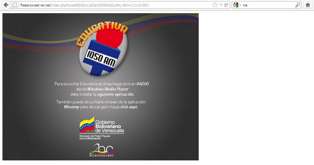 Gremio docente el colmo aumenta la represi n virtual for Pagina web del ministerio