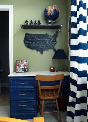 Pottery barn chalkboard knock off
