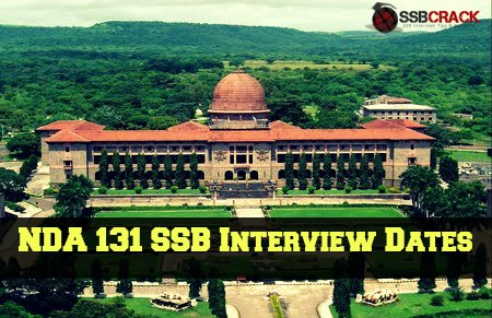 nda 131 ssb interview dates
