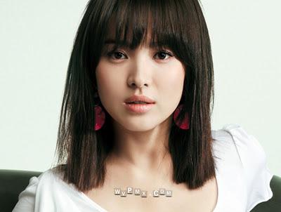 rambut artis Korea ini untuk diterapkan padarambut pendek dan medium