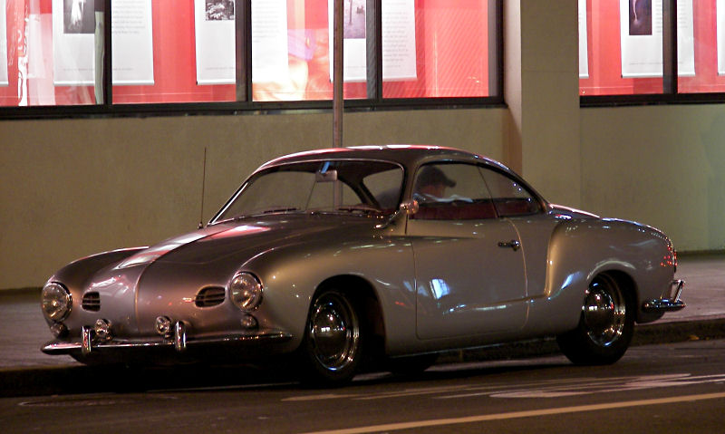 California Streets: San Francisco Street Sighting - 1958 Volkswagen Karmann Ghia