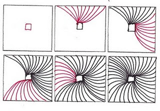 Nifty image pertaining to zentangle patterns step by step printable