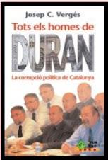 """Descarrega't  l'ebook """"Tots els homes de Duran. La corrupció política de Catalunya"""""""