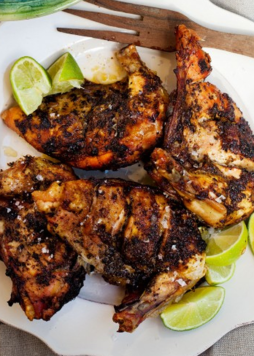 Grilled Jerk Chicken Recipe — Dishmaps