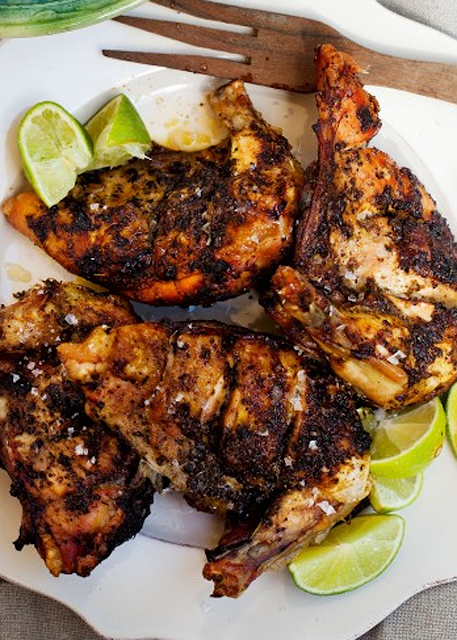Scrumpdillyicious: Grilled Jamaican 'Jump-Up' Jerk Chicken