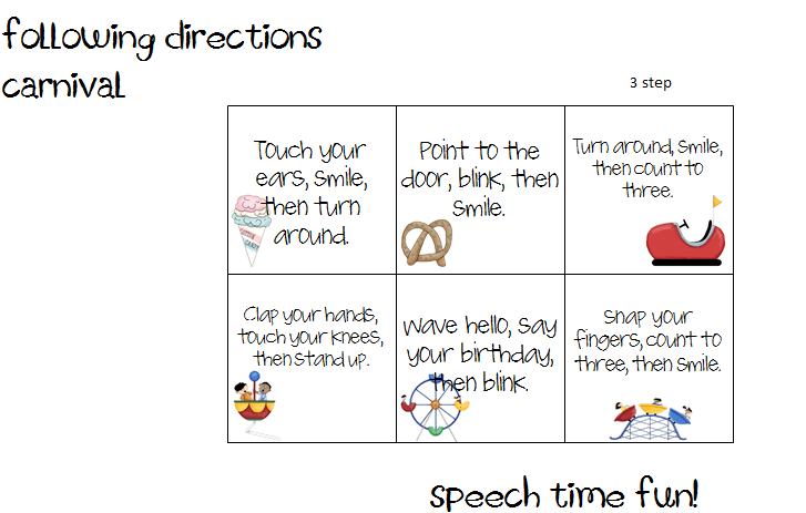 tricky-directions-2 | Teaching Pins | Pinterest | Worksheets ...