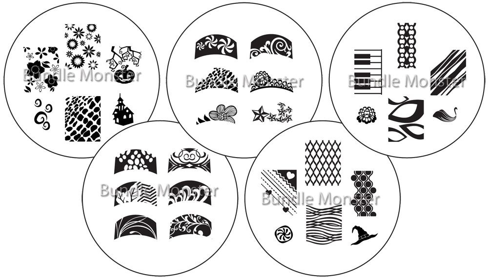preview  new bundle monster plates