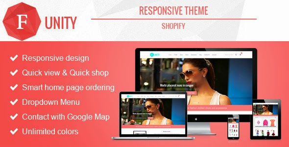 Funity New Responsive Shopify Theme