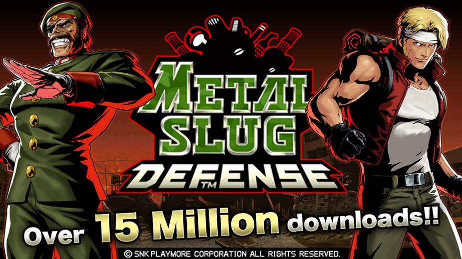 El Juego Metal Slug Defense ya ha conseguido más de 15 millones de descargas.