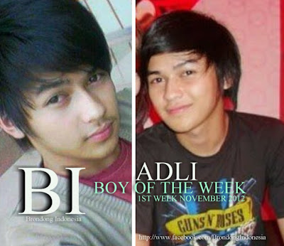Boy of the Week 1st Week November 2012 - Adli ~ Boy Indonesia