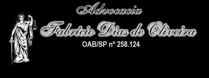 Advocacia FABRÍCIO DIAS DE OLIVEIRA